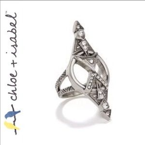 Chloe+Isabel amulet statement ring